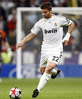 Xabi Alonso con el Real Madrid