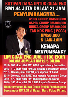 Siapa penderma wang jaminan Lim Guan Eng #LGErasuah