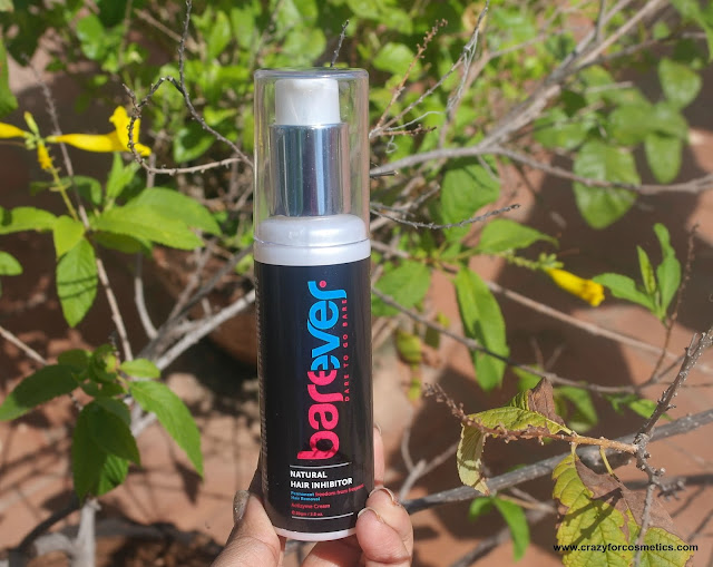 Barever Natural hair Inhibitor India