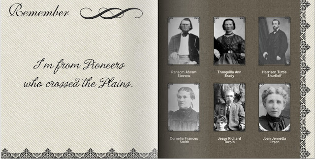Mixbook Pioneers who crossed the plains