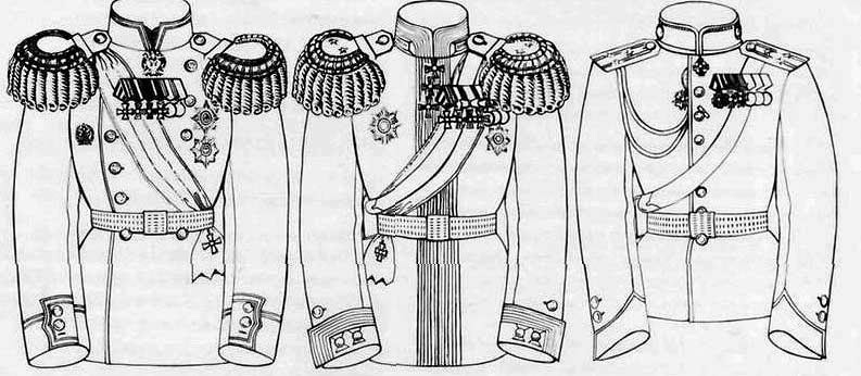 Схема ношения орденов