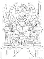 Gambar Sang Raja Odin Ayah Thor