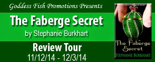 http://goddessfishpromotions.blogspot.com/2014/09/review-tour-faberge-secret-by-stephanie.html