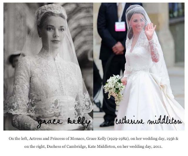 grace kelly wedding dress kate middleton. I love Grace Kelly.