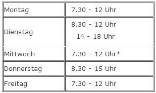 Öffnungszeiten vom Kreisverwaltungsreferat München