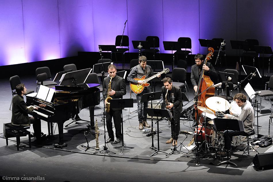 Joan Vidal Sextet, Auditori de Granollers, 15-2-2015