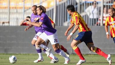 Lecce Fiorentina 0-1 highlights sky