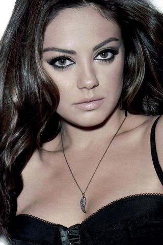 Mila Kunis iPhone wallpaper