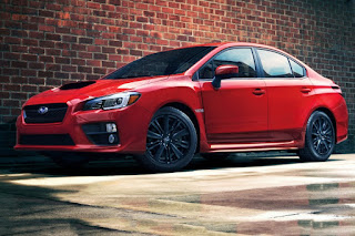2015 Comvetible Subaru WRX performance front view