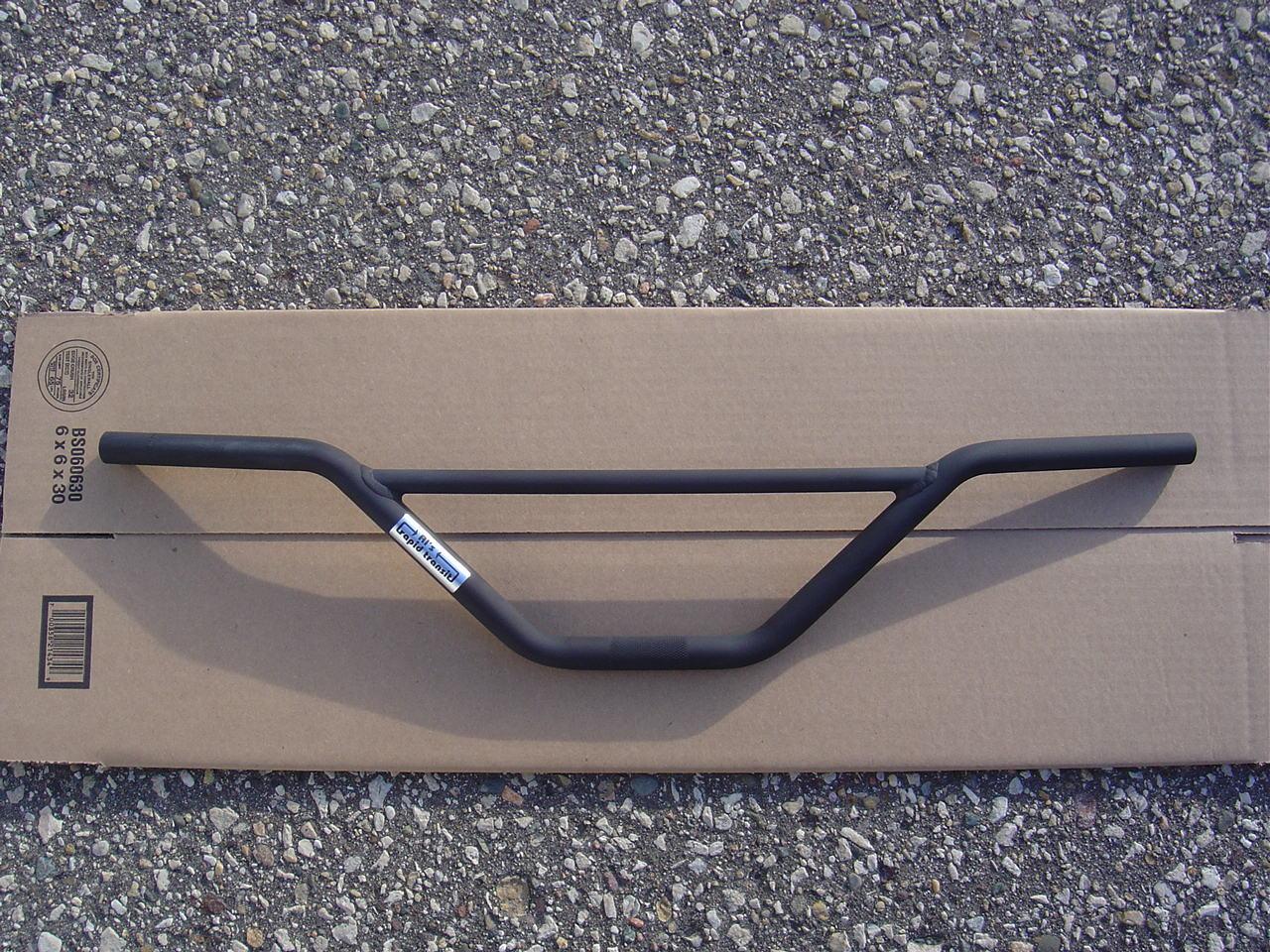 RAW Al/'s Rapid Transit V-Bars BMX Handlebar 29 x 9 4130 USA Knurled NEW 2nd Gen