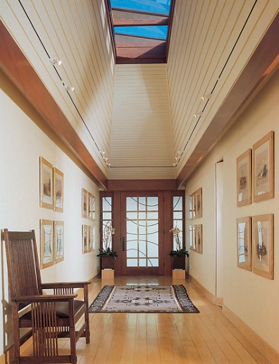 new home interior design prairie style in montecito