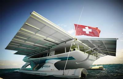 PlanetSolar el barco solar más grande del Mundo (Reseña. Fotos. Video).