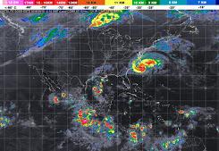 Prevén cielo nublado y posibles tormentas en Quintana Roo