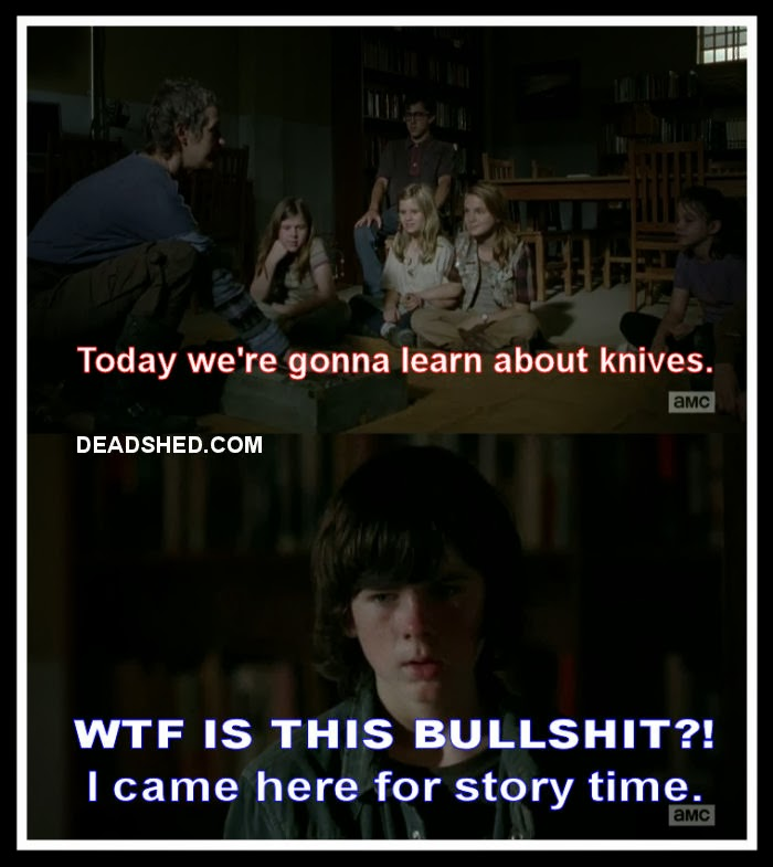 Walking Dead Meme Season 4 Carol Click to Enlarge Hands off
