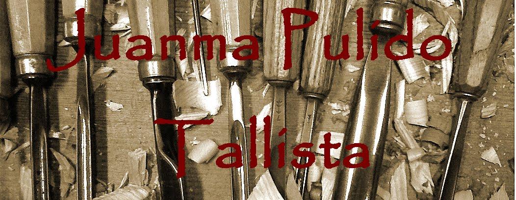 Tallista. Juan Manuel Pulido. Estudio de Talla en madera.