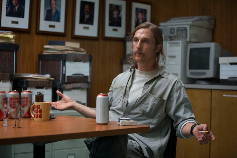 Matthew McConaughey as Cohle, True Detective, Sky Atlantic