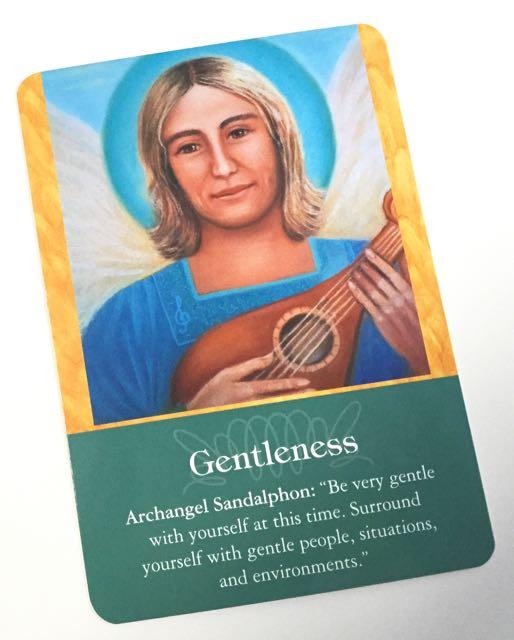 大天使サンダルフォン『優しさ』(Gentleness)。