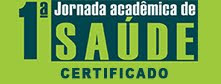 Certificado da I Jornada Acadêmica de Saúde