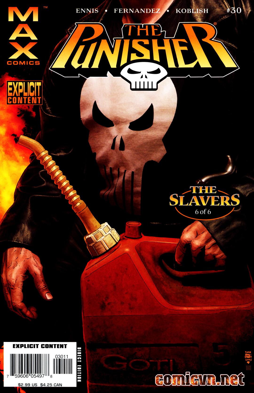 The Punisher: The Slavers: Chapter 6