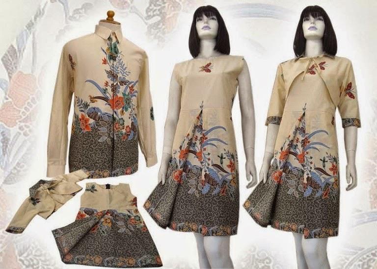 Aneka Model Baju Gamis Batik Terbaru Untuk Pesta