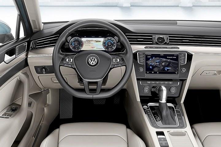 Volkswagen Passat 2015 interni