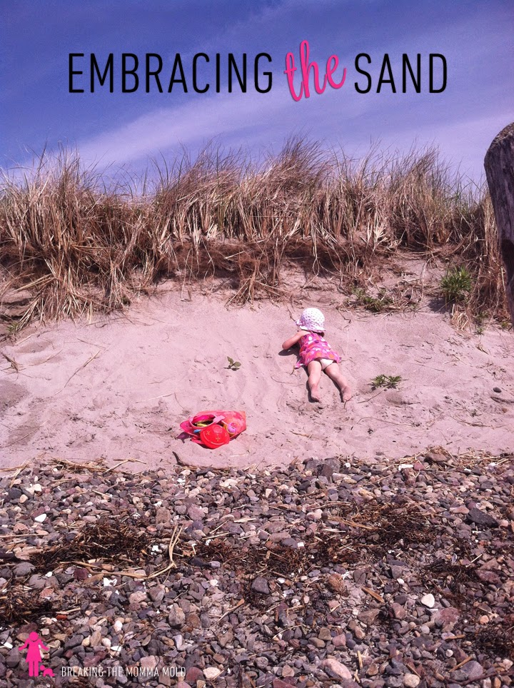 Breaking The Momma Mold: Embracing The Sand