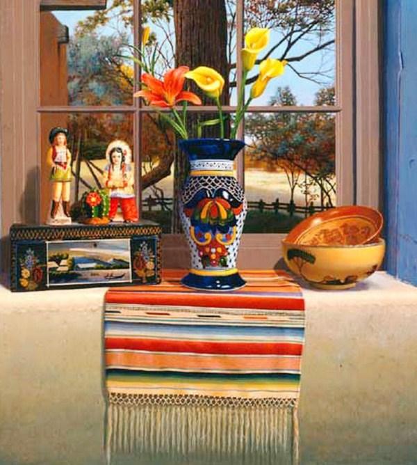 cuadros modernos cuadros con rebozos mexicanos