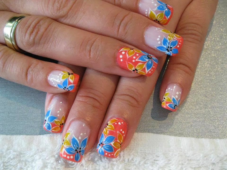 Great Acrylic Nail Designs 2013 Nail Art Ideas 101
