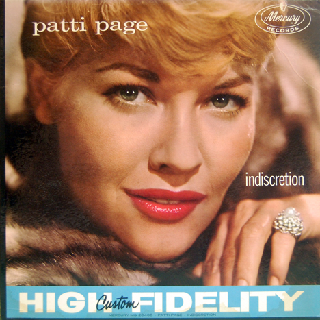 Patti Page on Patti Page  1927 2013