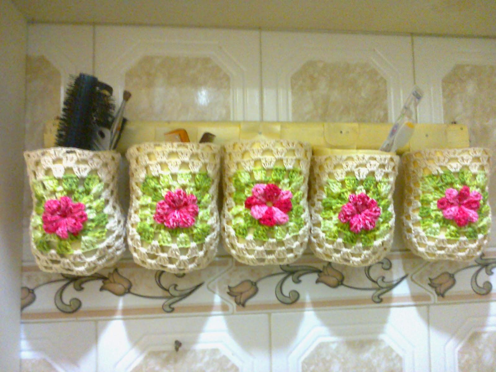 Organizador De Baño Reciclado:este organizador lo hice para mi baño espero les guste