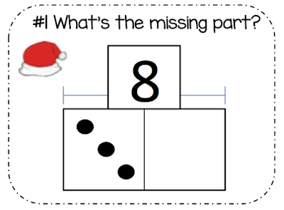 Practice addition and subtraction with these Christmas Math task cards