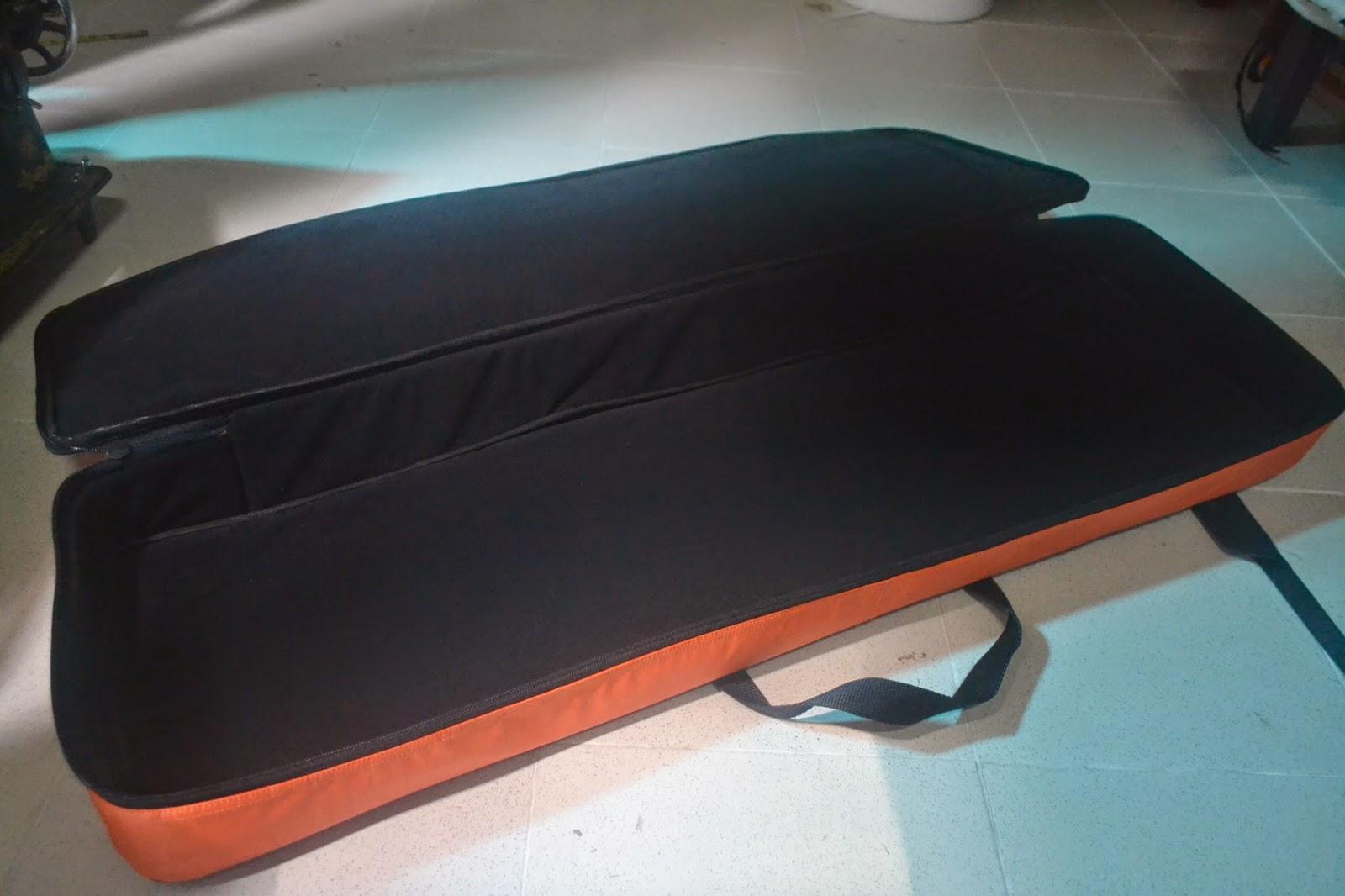 Jual Tas/Softcase Keyboard KORG X50 hitam orange