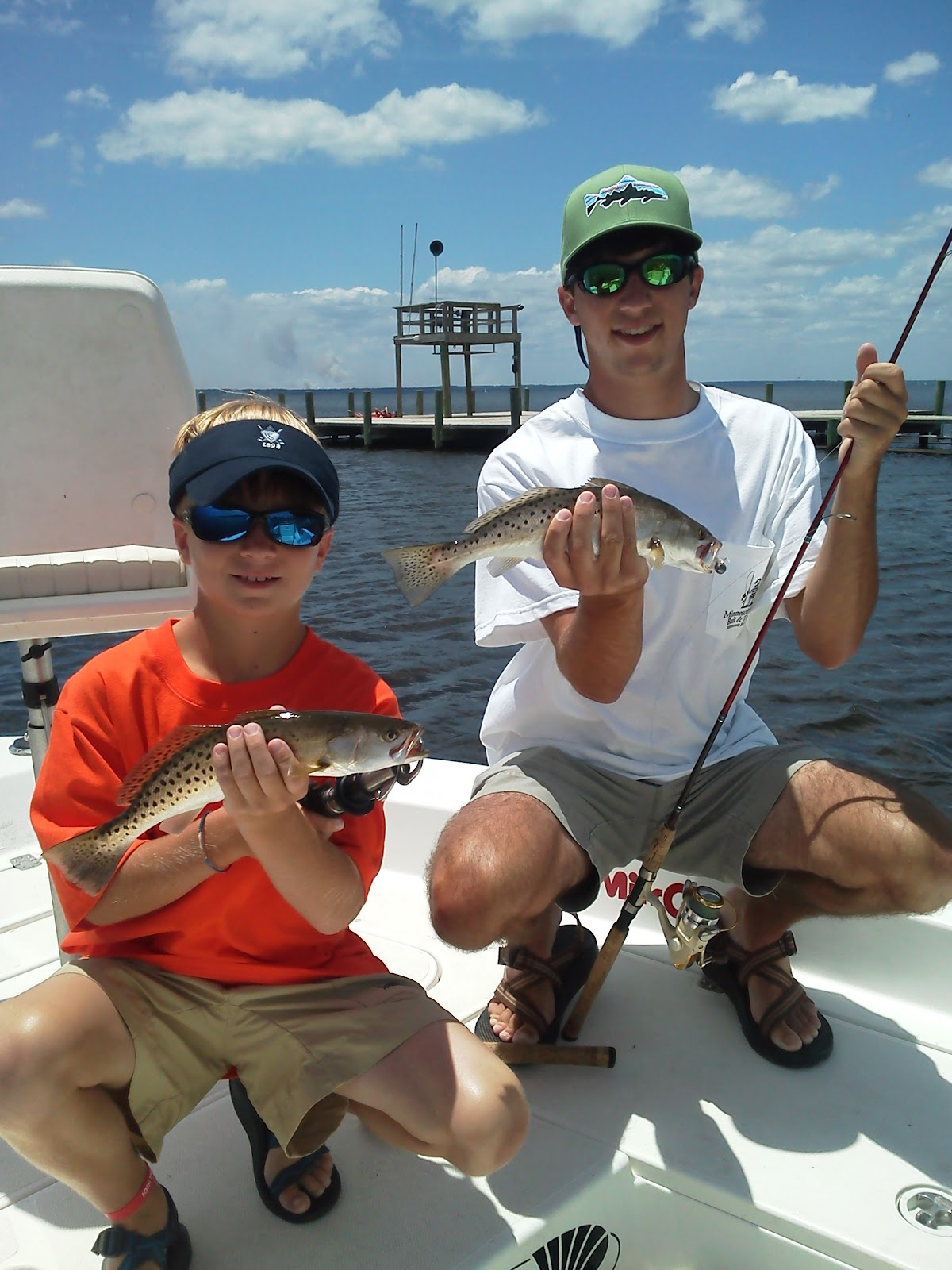Degs fishing report neuse river mixed bag for Neuse river fishing report