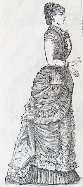 1879 bustle dress