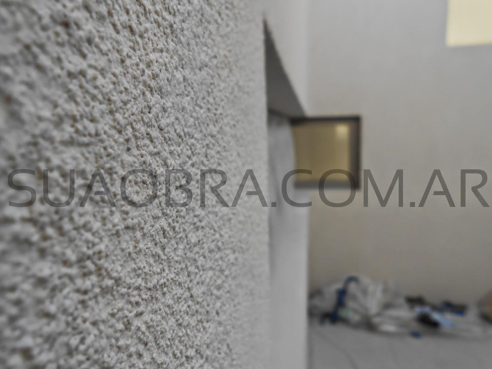 Revestimientos plasticos por suaobra com revestimiento for Colores beige para paredes exteriores