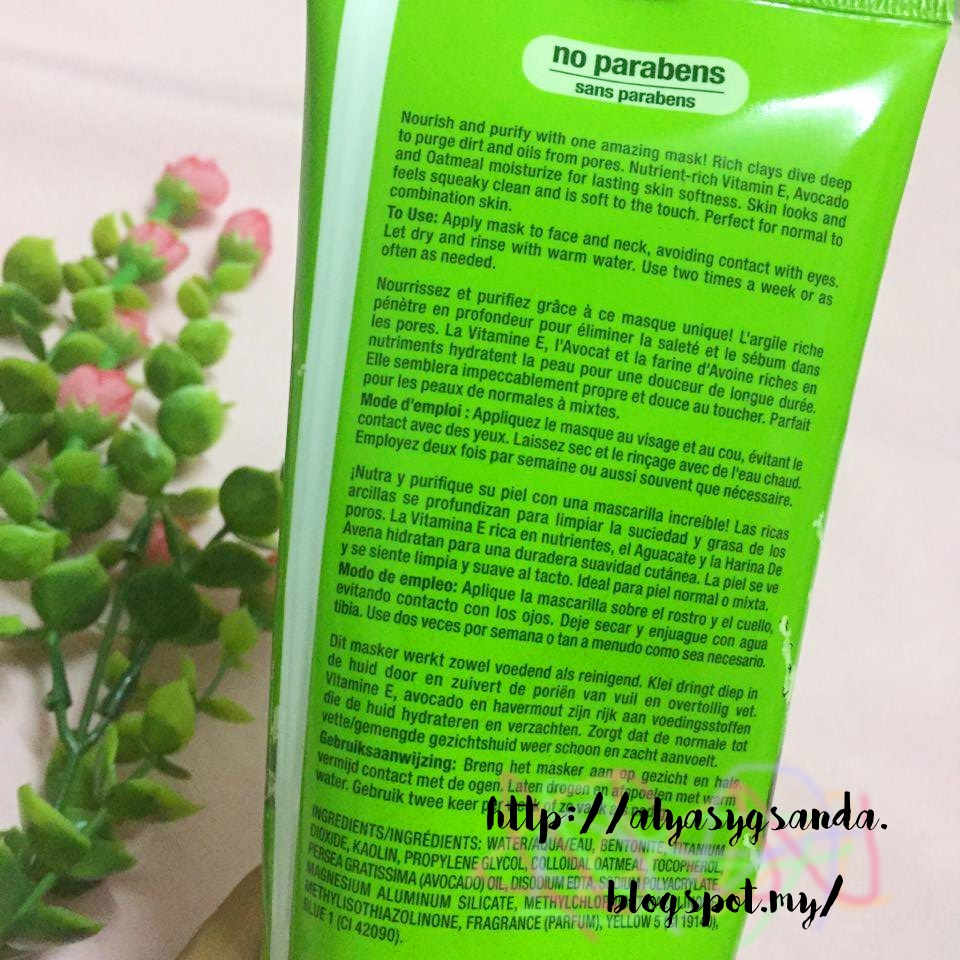 Review - Freeman Beauty: Avocado Oatmeal Clay Mask Review - Freeman Beauty: Avocado Oatmeal Clay Mask new pictures