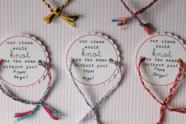 Creative Party Ideas By Cheryl Friendship Bracelet Valentines