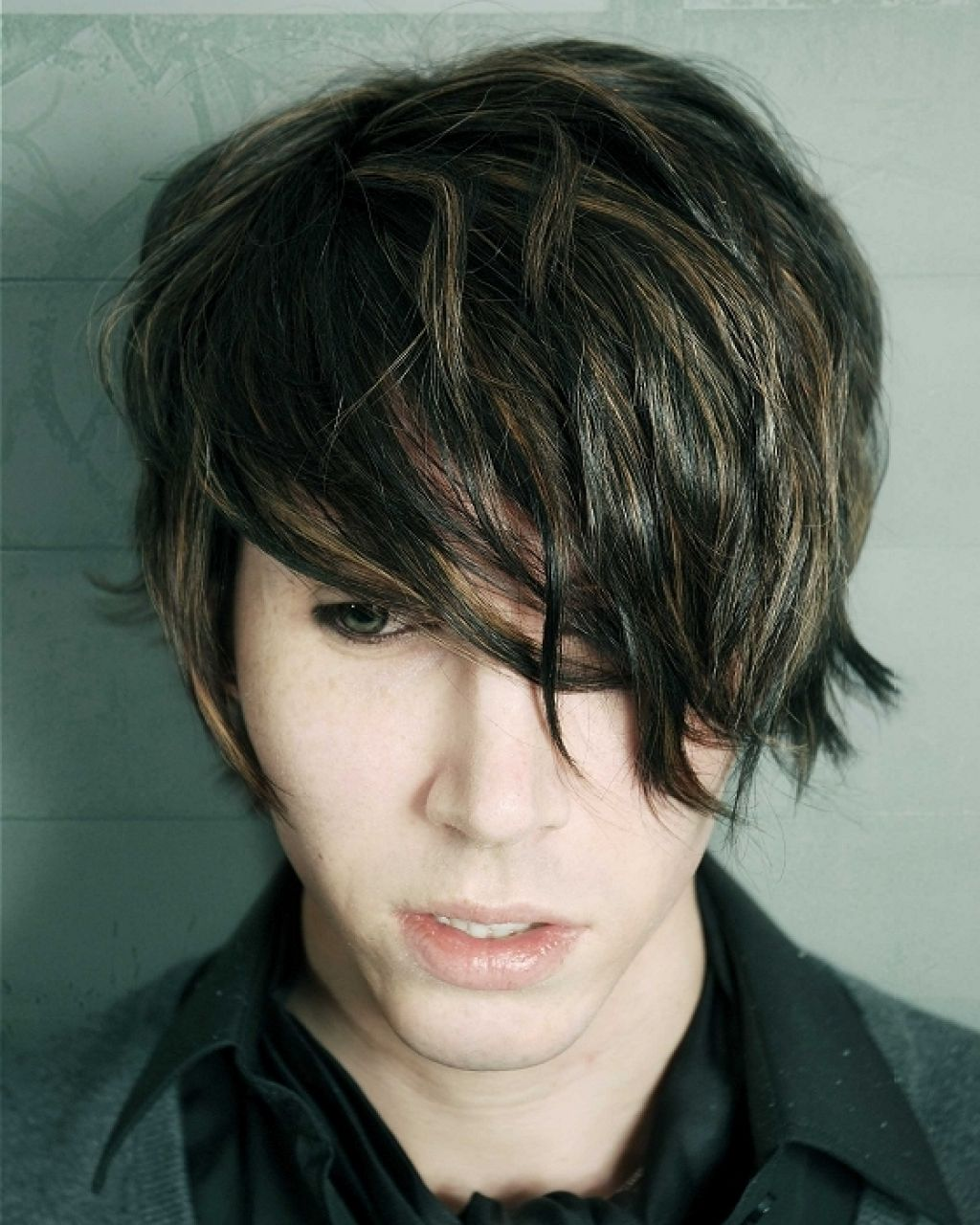 Short Emo Hairstyles For Men