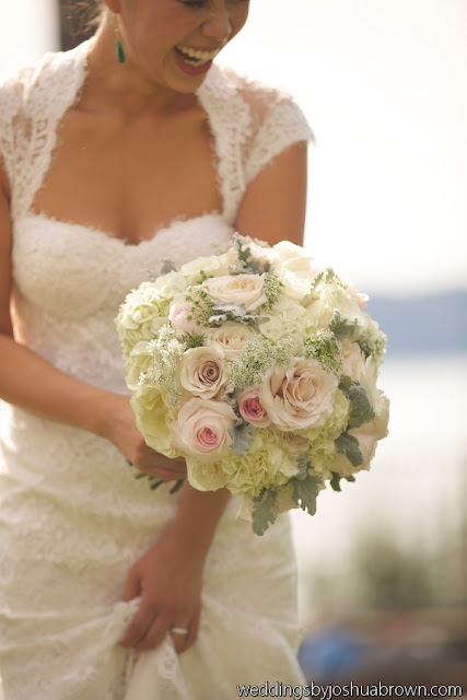 wedding bouquet, blush flowers, Seattle floral design, Flora Nova Design