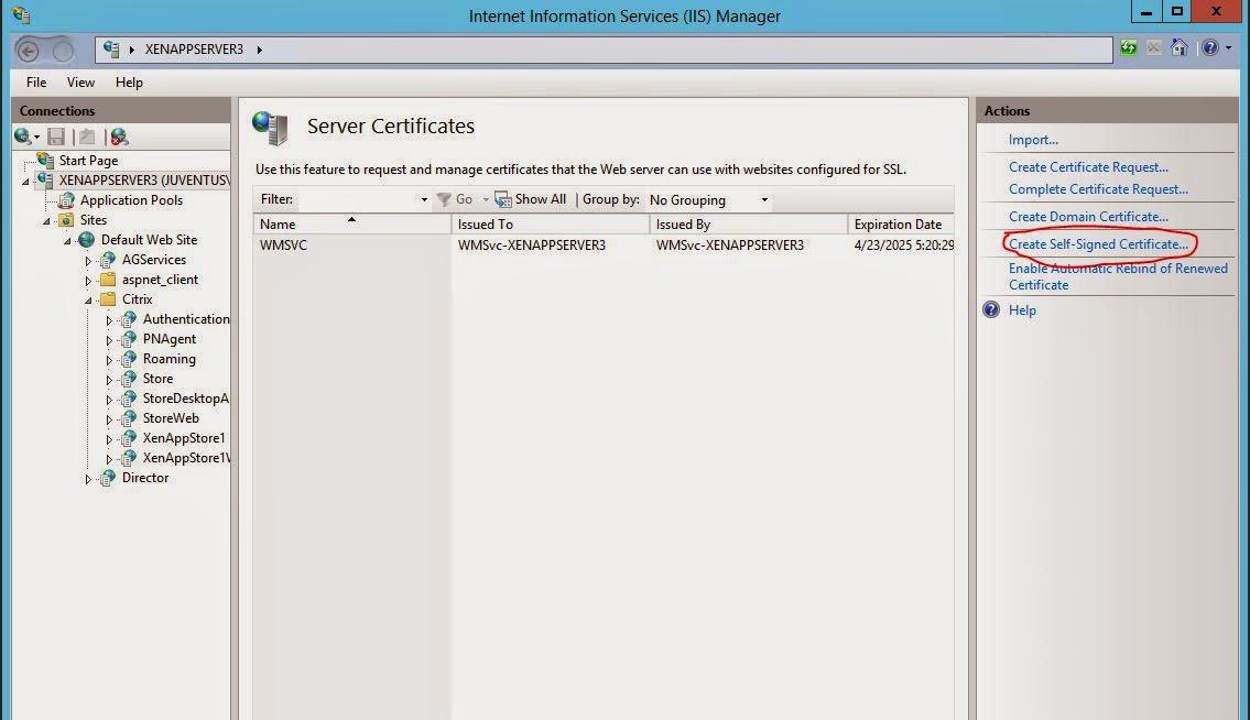 Citrix Xenapp 76 Part 7 Setup And Configure Storefront It