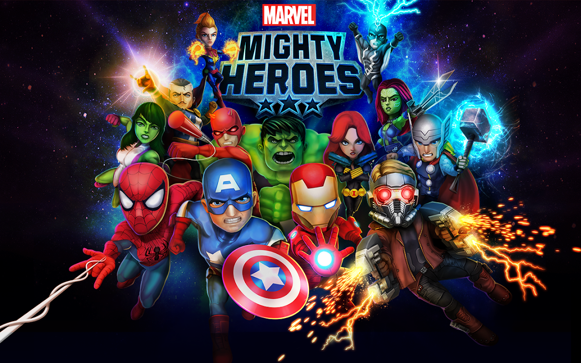Marvel Mighty Heroes Gameplay IOS / Android