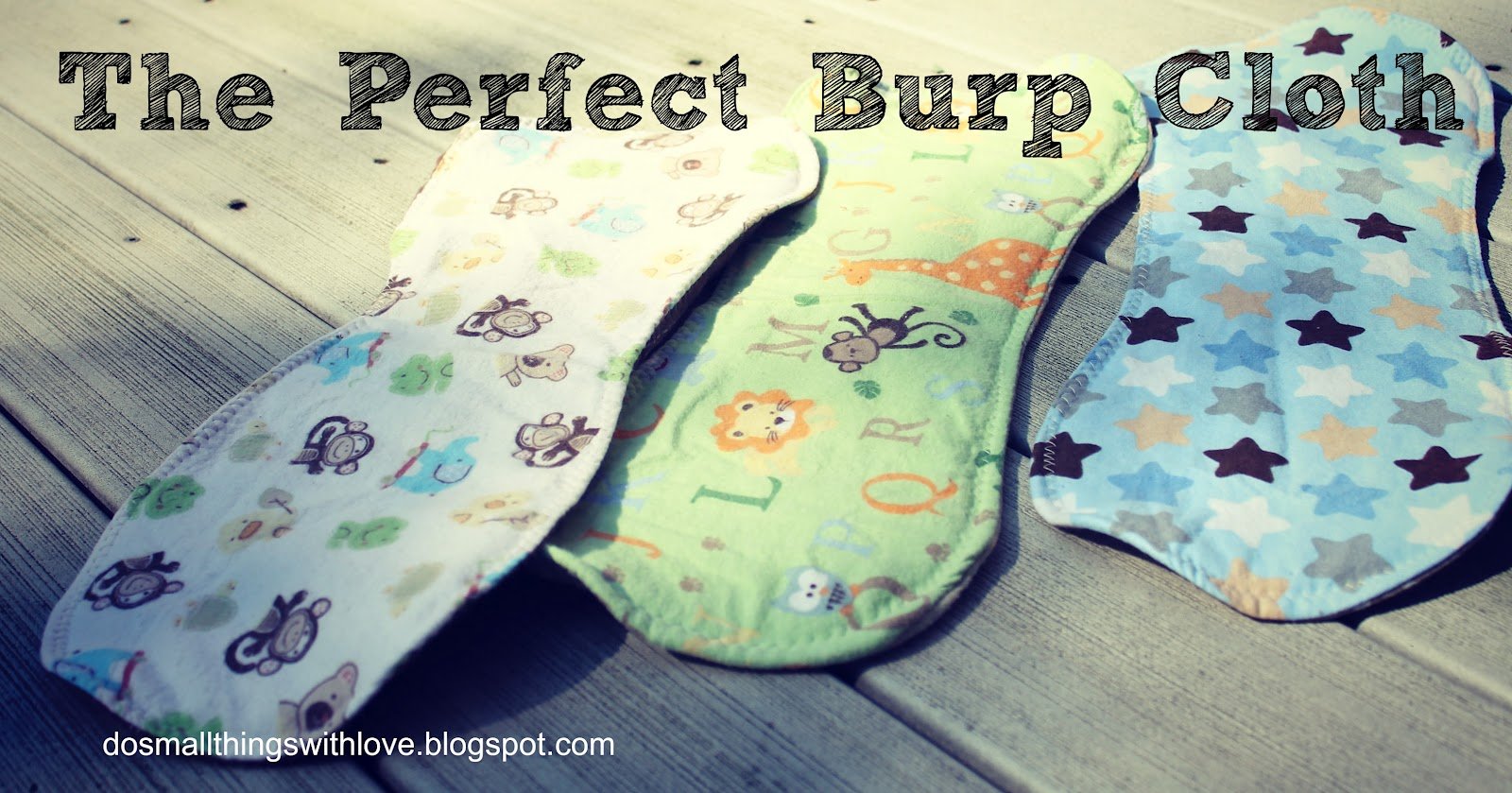 Baby Prep The Perfect Burp Cloth – Do Small Things with