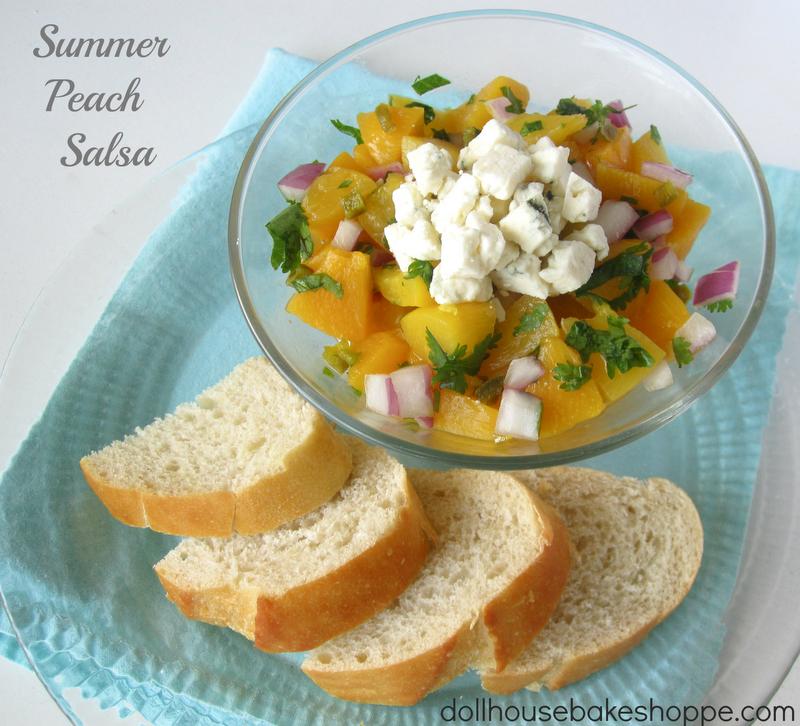 Lindsay Ann Bakes: Simple Summer Peach Salsa (great for ...