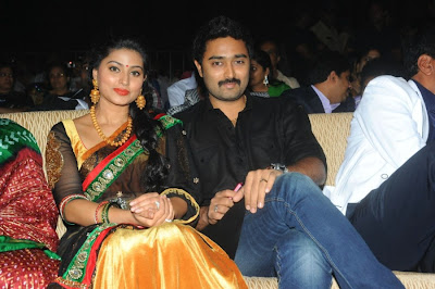 Sneha Images Prasanna Stills Photo @ Santosham Movie Awards 2012 Event Stills