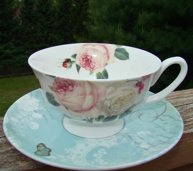 Paris Inspired Tea Cup from Gracie