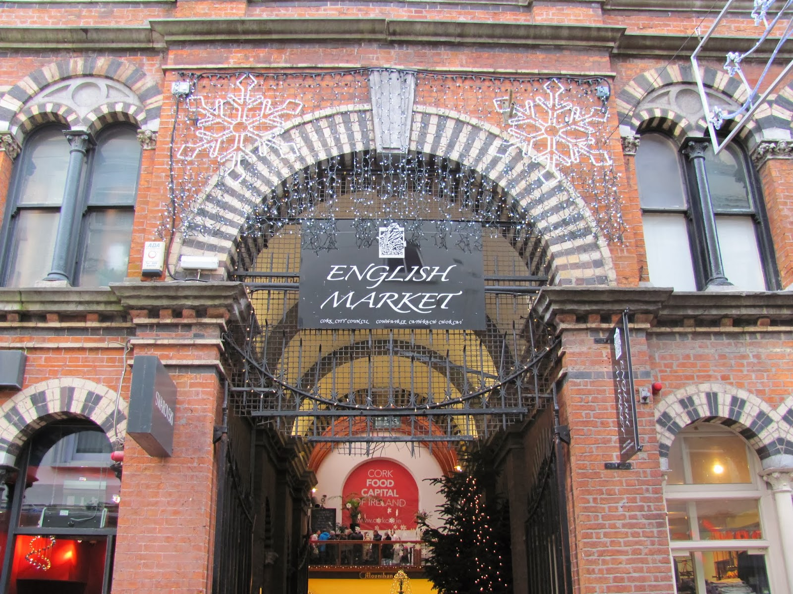 Cork English Market Entrance Cork, Ireland