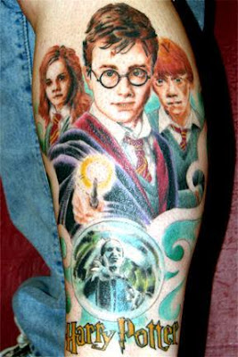 harry potter tattoo