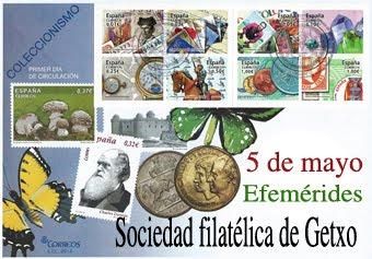 35 años de la Sociedad Filatélica de Getxo