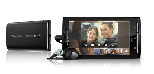 Sony  Ericsson Xperia X10 Comes with New Features