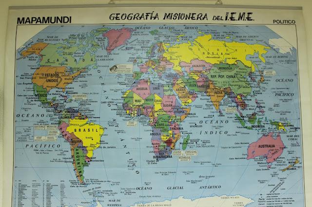 Geografía misionera IEME